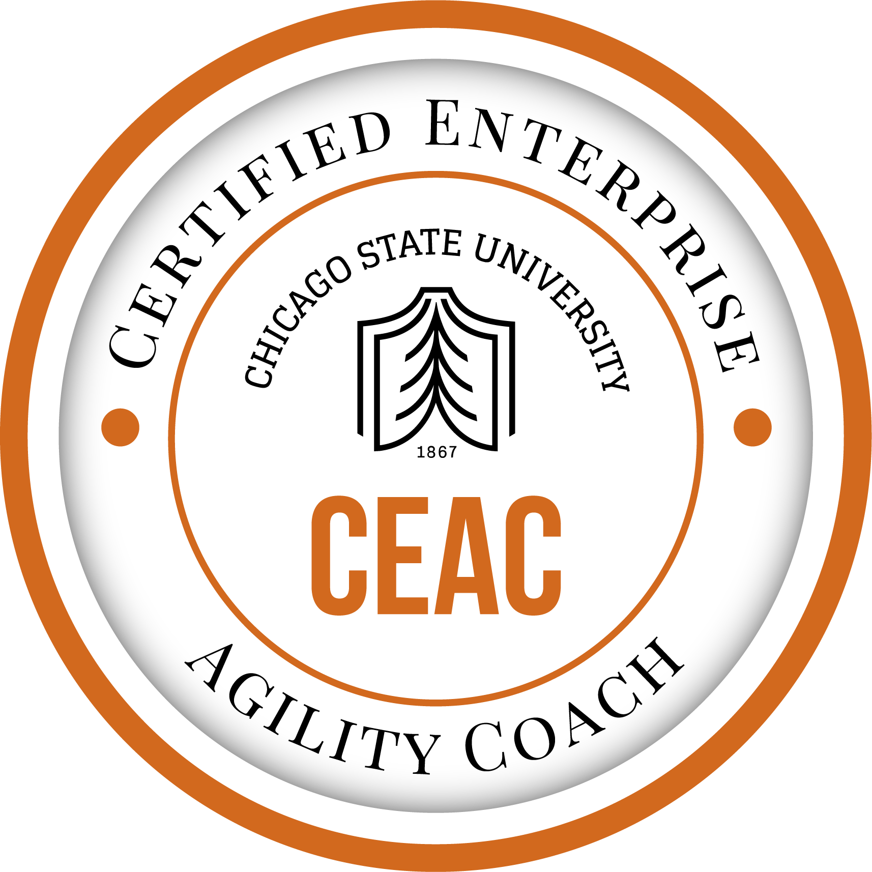 Certified Enterprise Agile Coach (CEAC) from Chicago State University
