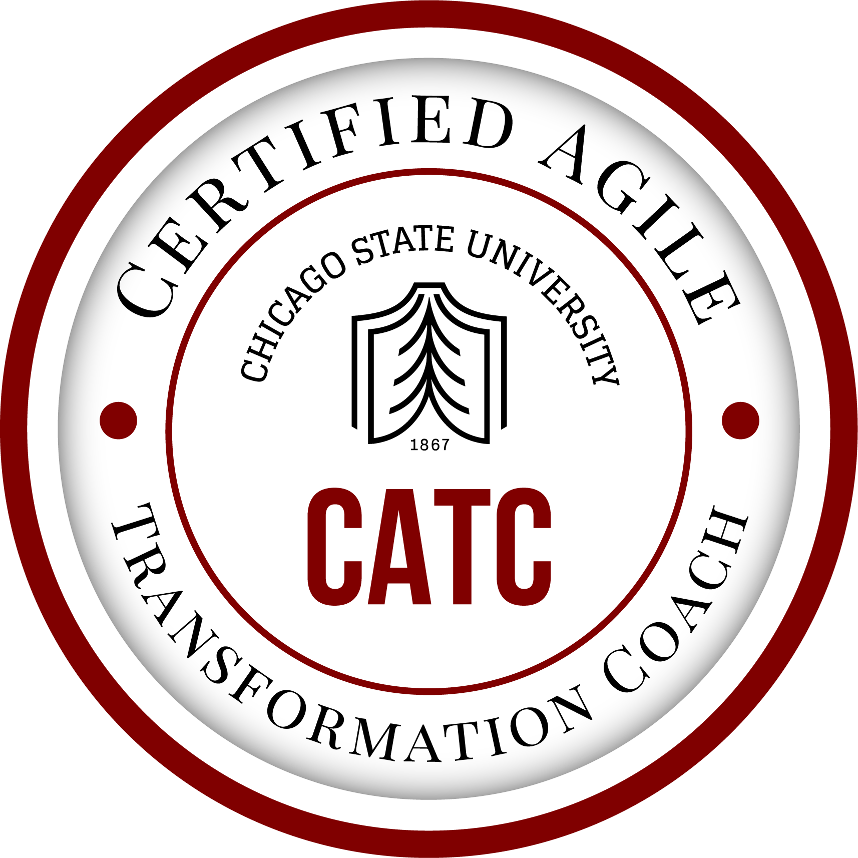 Certified Agile Transformation Coach (CATC) from Chicago State University