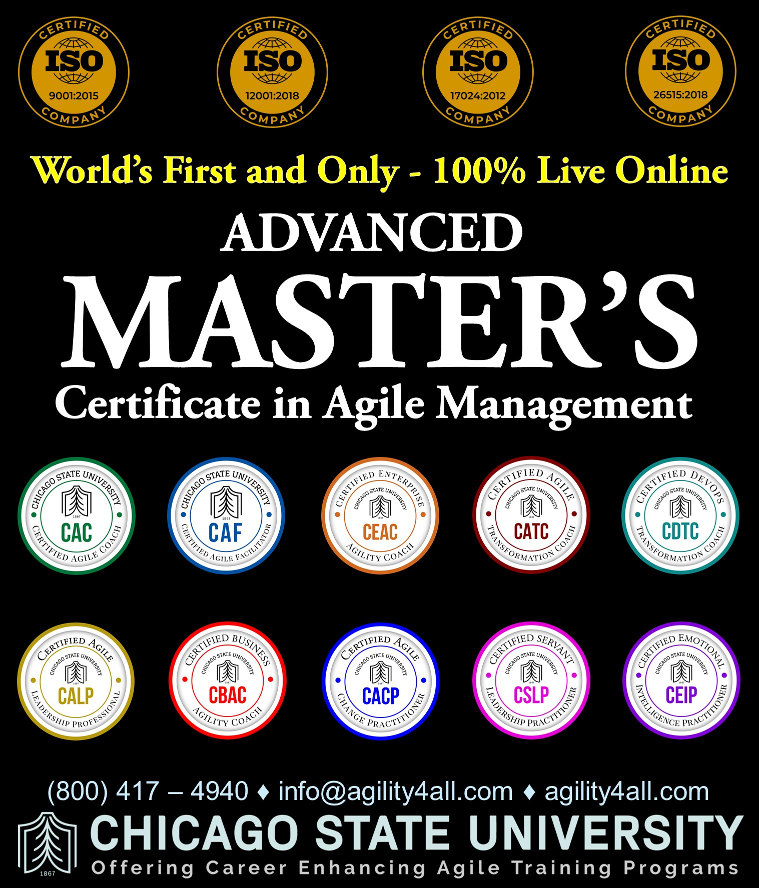 Agile Training Programs from Chicago State University